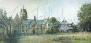No 6. Brambletye front elevation with theatre