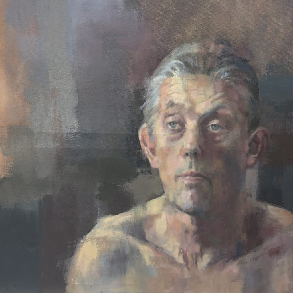 Old Man: adult oil painting