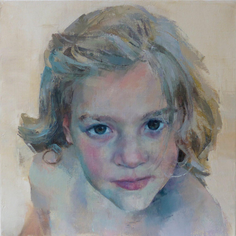 Oil painting portrait commission Sussex portrait artist