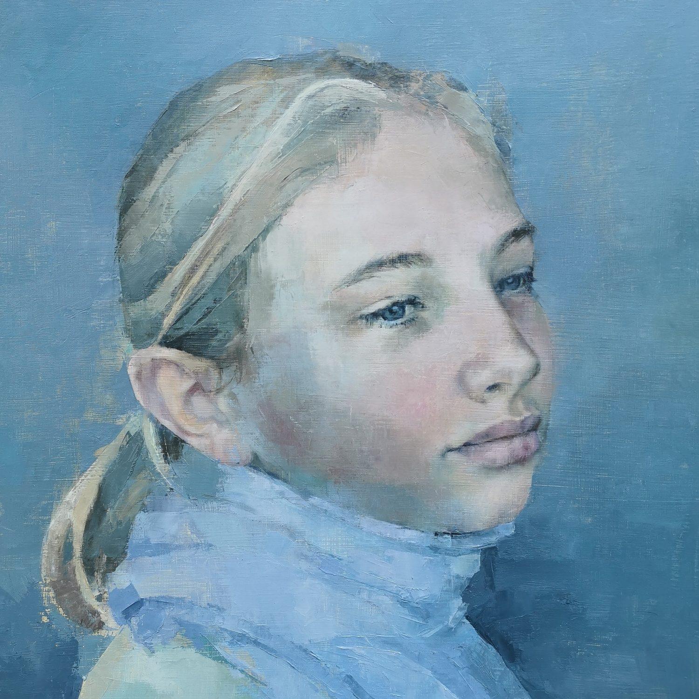 portrait painting commission- FM