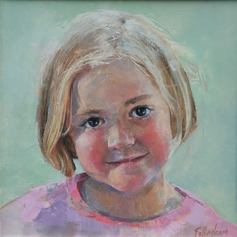 Oil Portrait AT
