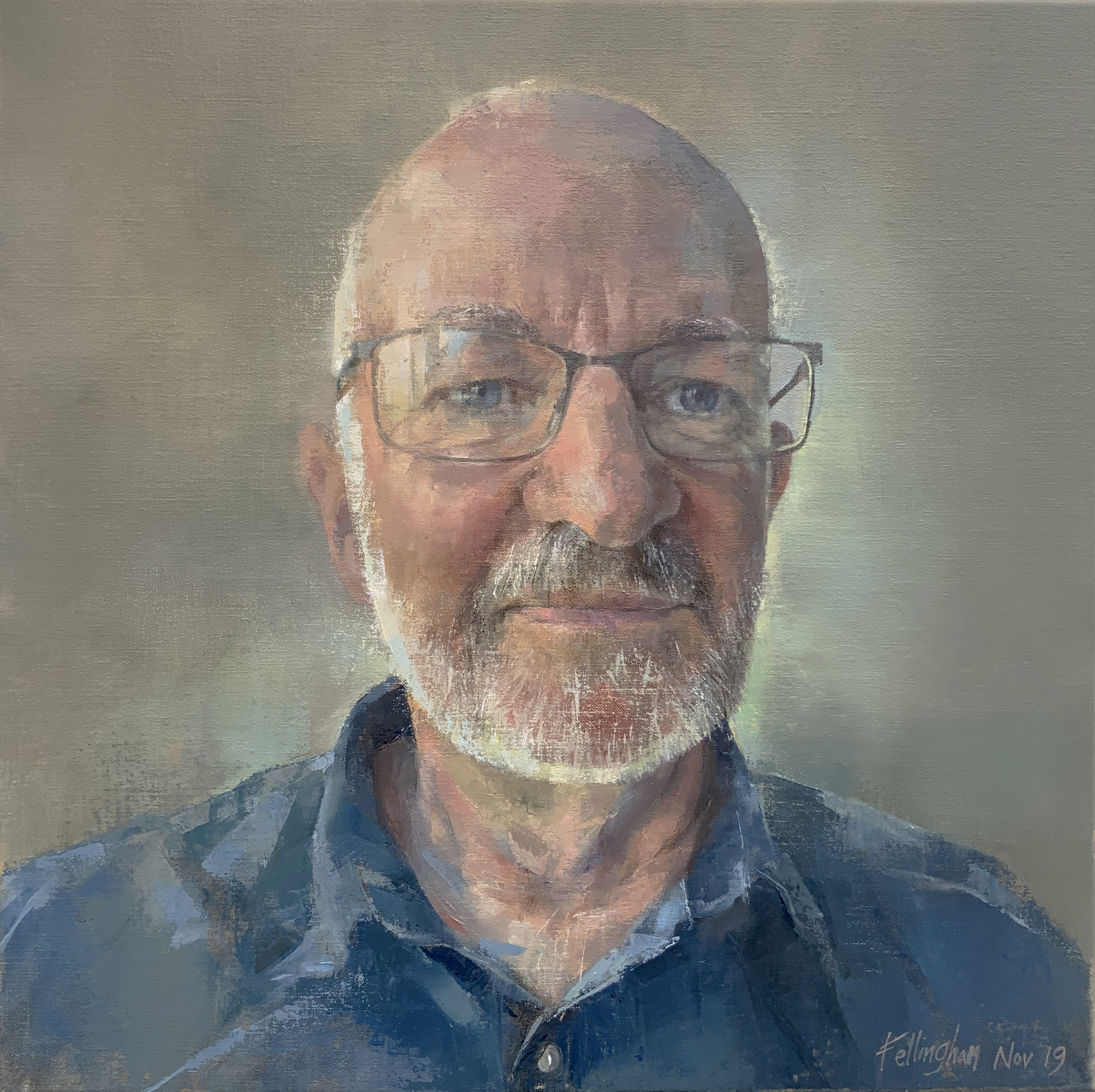 Oil portrait – Paul