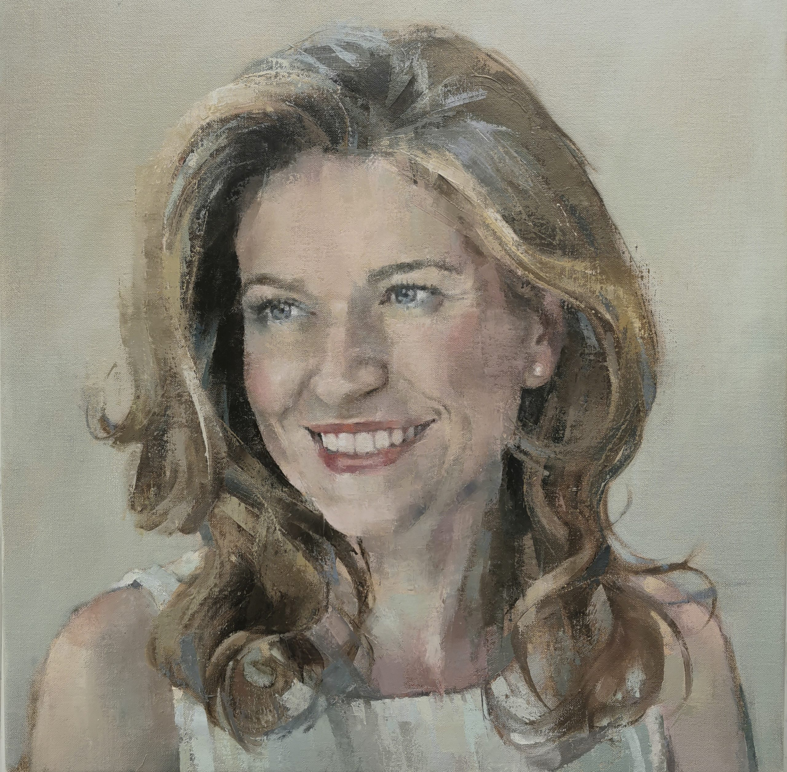 Oil portrait commission- Gemma