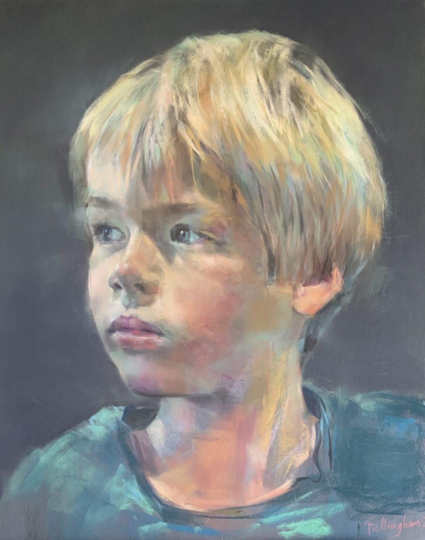 Portrait painting commission Sussex portrait artist