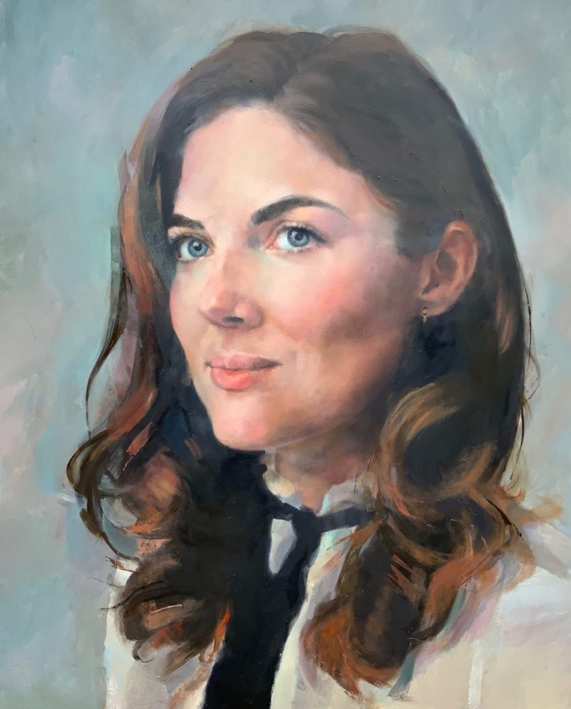 Oil Painting Portrait Commission – FD