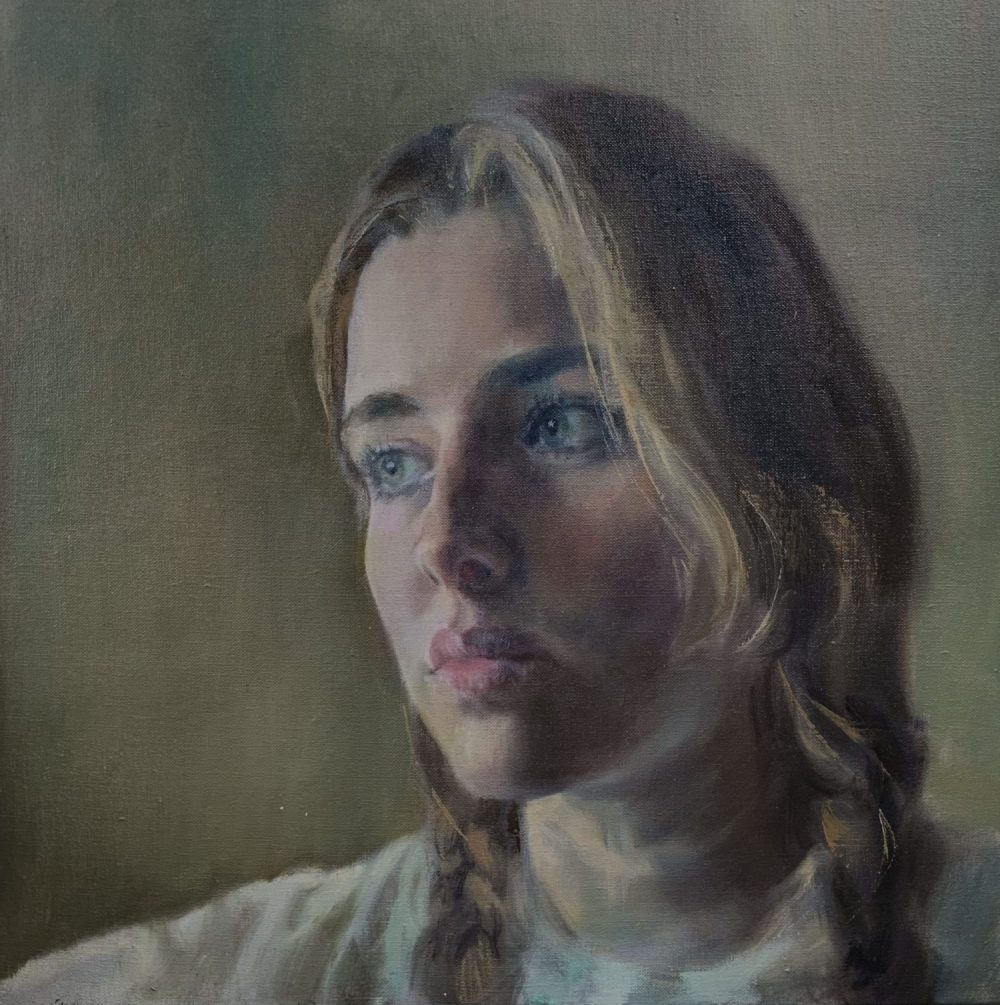 Oil portrait-HG